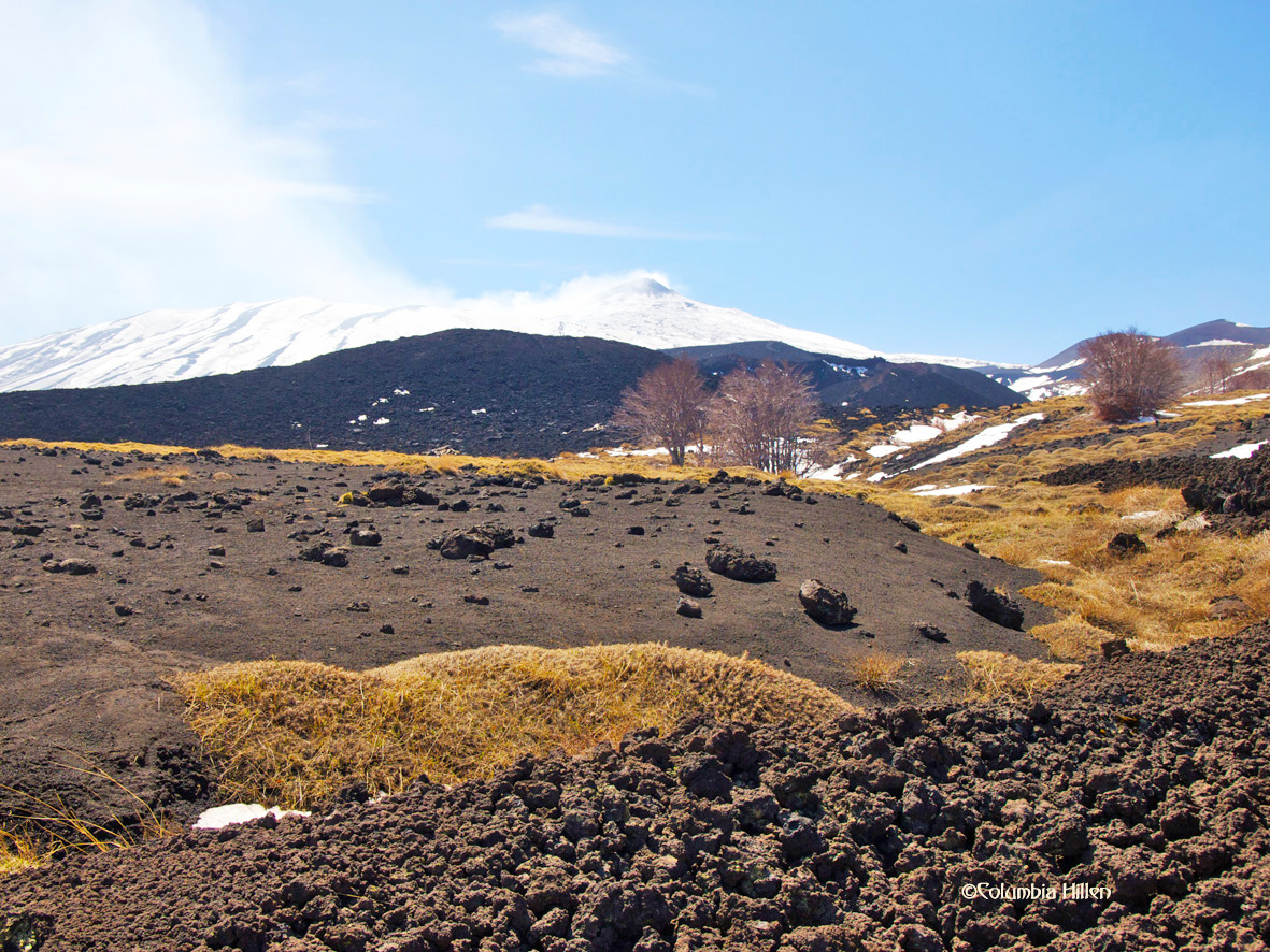 Mount Etna, landscape photography