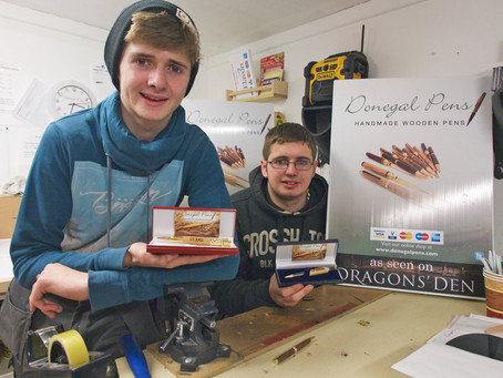 Youthful Irish spirit and creativity generate success