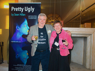 US 'Pretty Ugly' book tour: challenging, gratifying, filled with presentation lessons