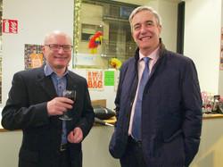 Tony Canavan and Richard Moat