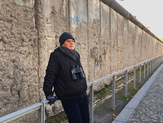 Visit to Berlin Wall speaks volumes for free thinkers