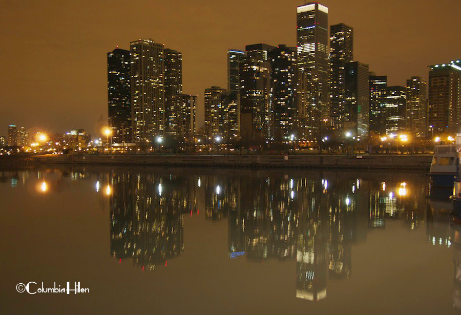 cityscape photography, night photography, columbia hillen