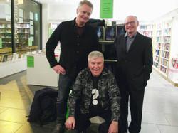 Pat Gallagher, Tony Canavan and Sean