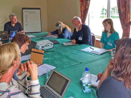 Summer Writing Retreat in Donegal is in full swing