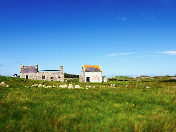 Gola island, authors emerge in the Irish culture in Donegal