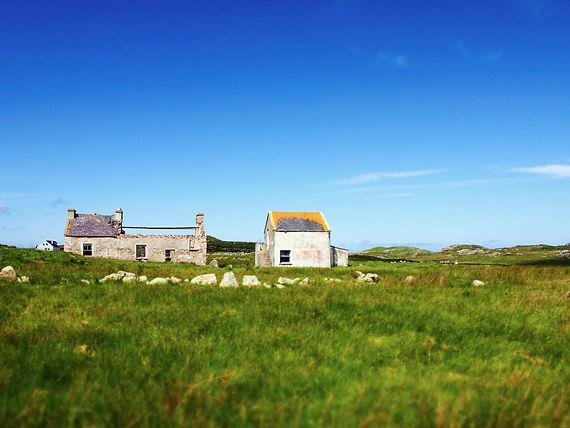 Gola island, authors emerge in the Irish culture in Donegal