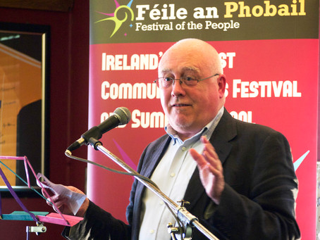 Author and civil rights activist, Danny Morrison, confirmed as guest trainer at 'Ireland Writing