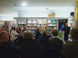 Book launch at The Gutter Book shop