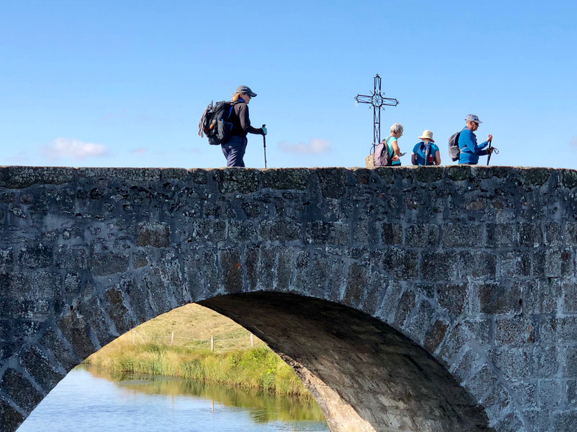 Building Bridges on the Camino St. Jacques a Photo Essay and Poem