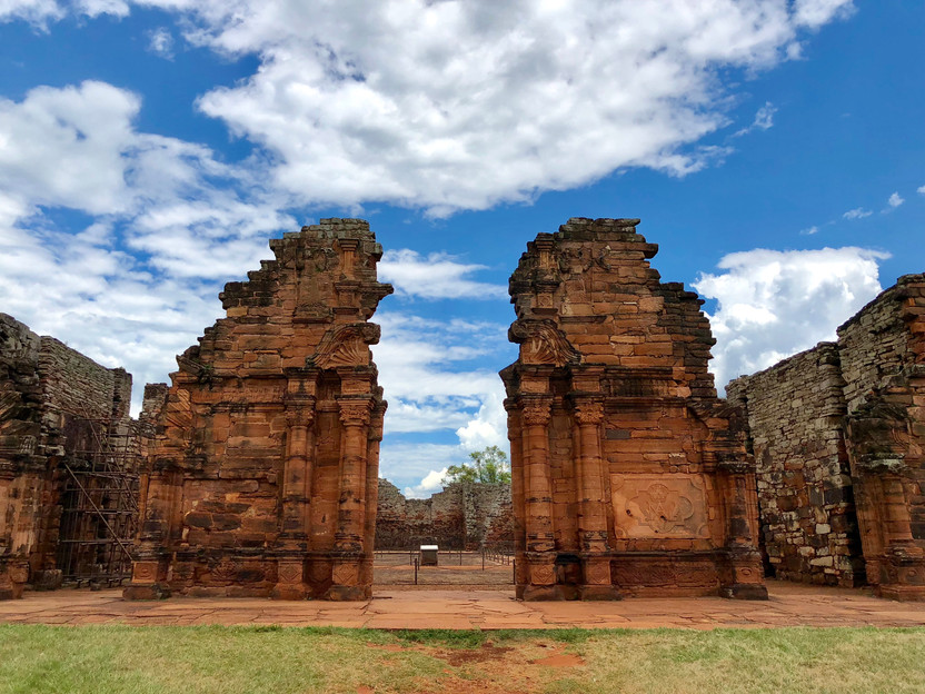The Ruins of Utopia, San Ignacio, Argentina