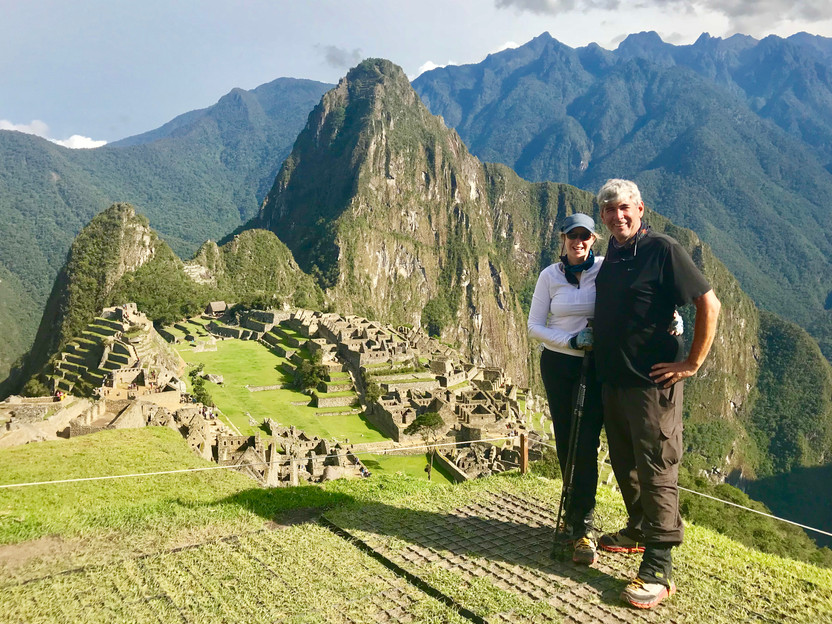 The Inca Trail Trek to Macchu Picchu, Day 4, The Lost City