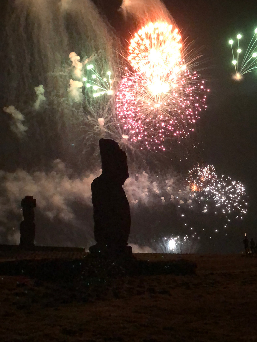 Riding, Relaxing and Ringing in the New Year on Easter Island