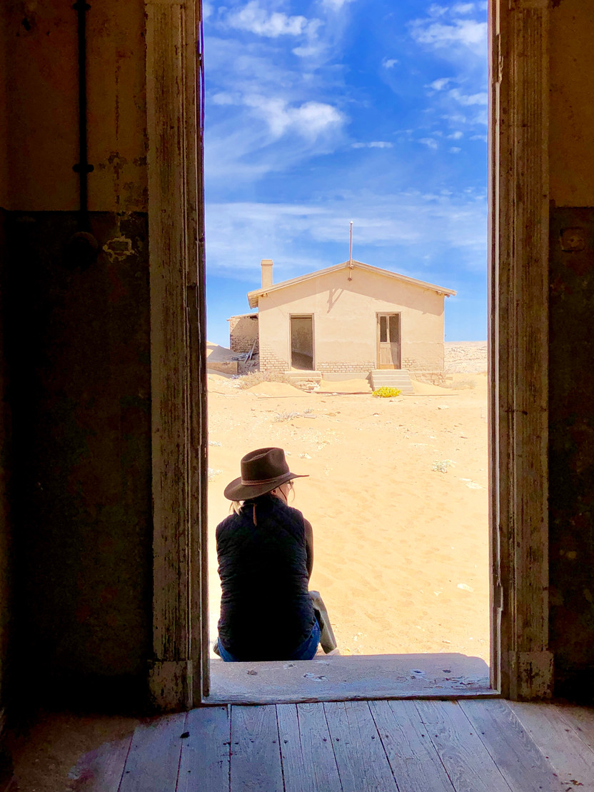 Ghost Towns Along the Highway, Kolmanskop, Namibia