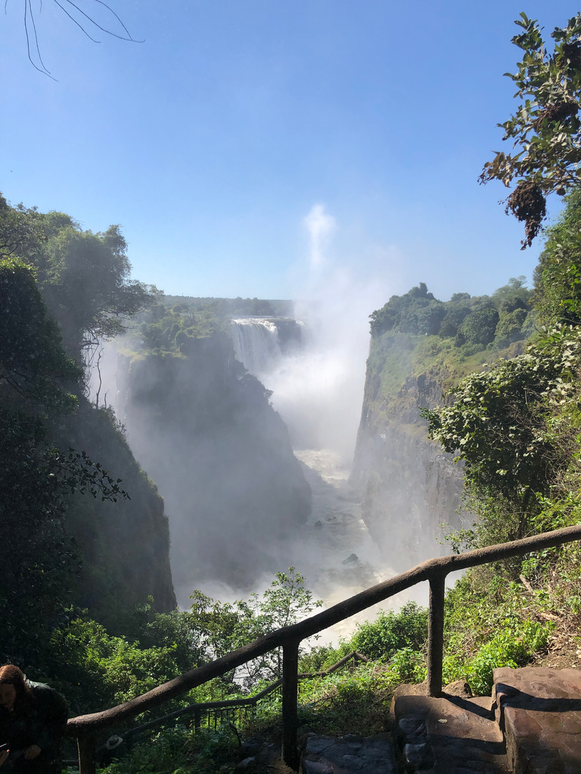 Making Friends and Nachos in Victoria Falls, Zimbabwe and Zambia