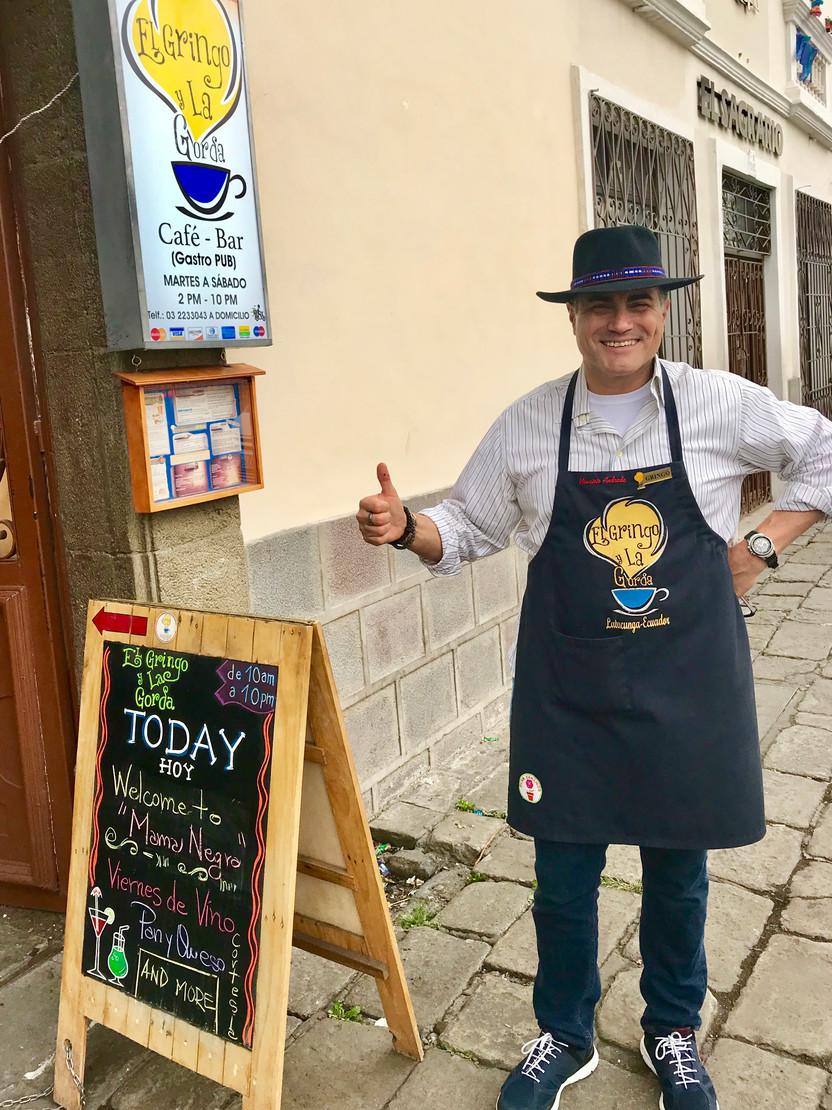 El Gringo y La Gorda, The Best New Orleans Restaurant in South America
