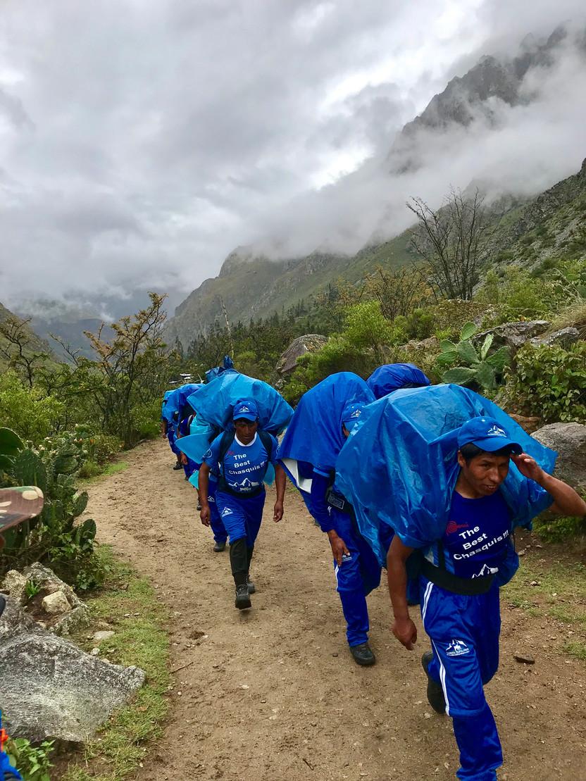 The Inca Trail Trek to Machu Picchu, Day 1