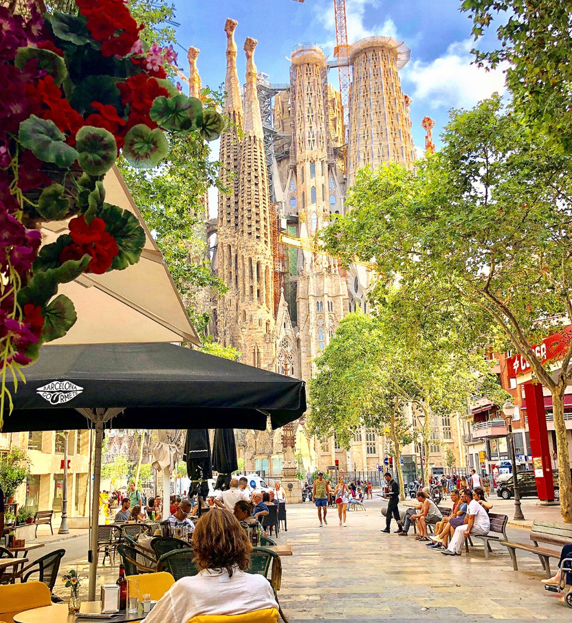 Beautiful Barcelona, Spain