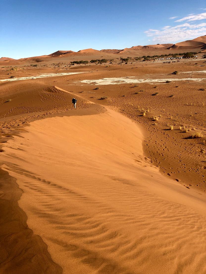 The Namib Desert, Sossusvlei, Namibia