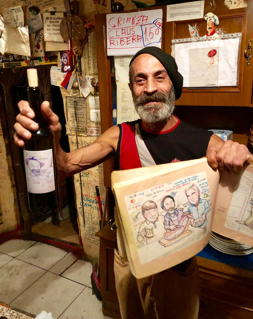 Elvis, a Drunk Russian and Hiking Under the Influence, Camino de Santiago, Spain
