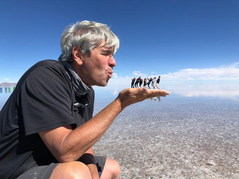 Uyuni Salt Flat Fun, Bolivia