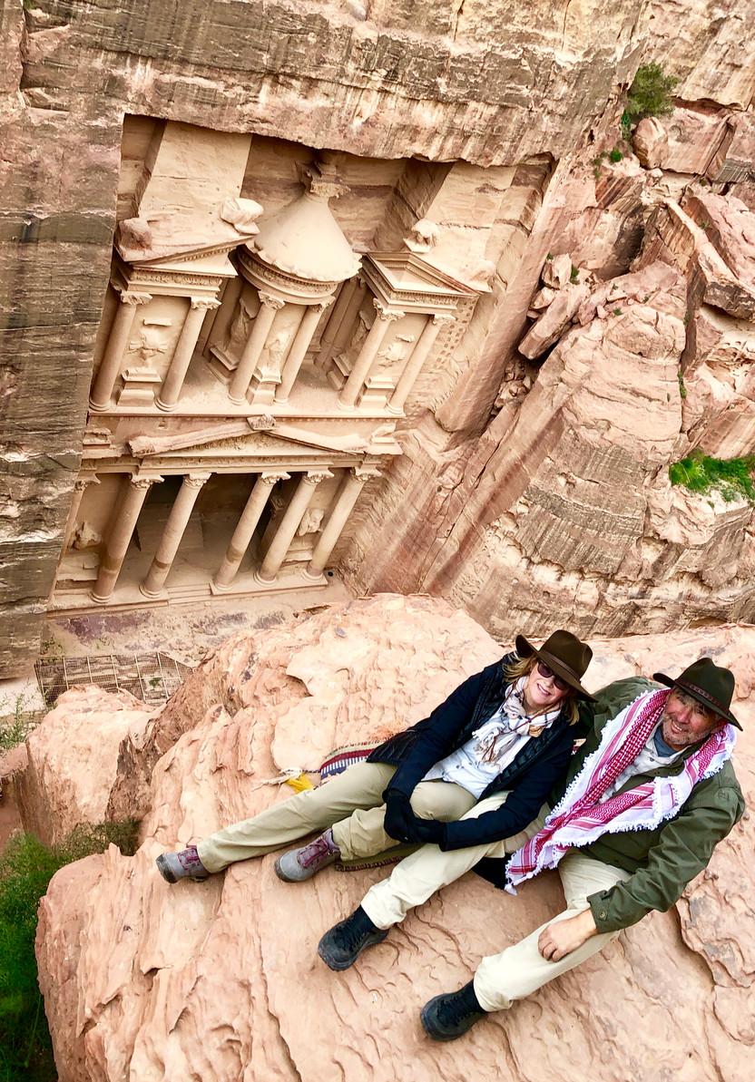 Lost in Petra, Jordan
