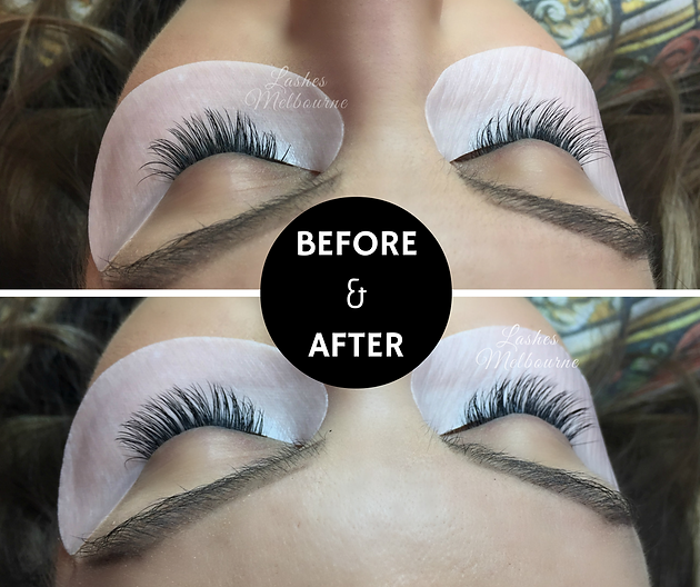 Refill Timing Eyelash Extensions Melbourne Lashes Melbourne