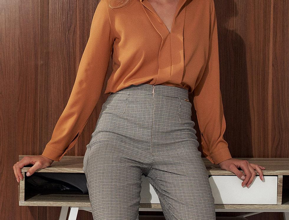 Shirt M732 Brown