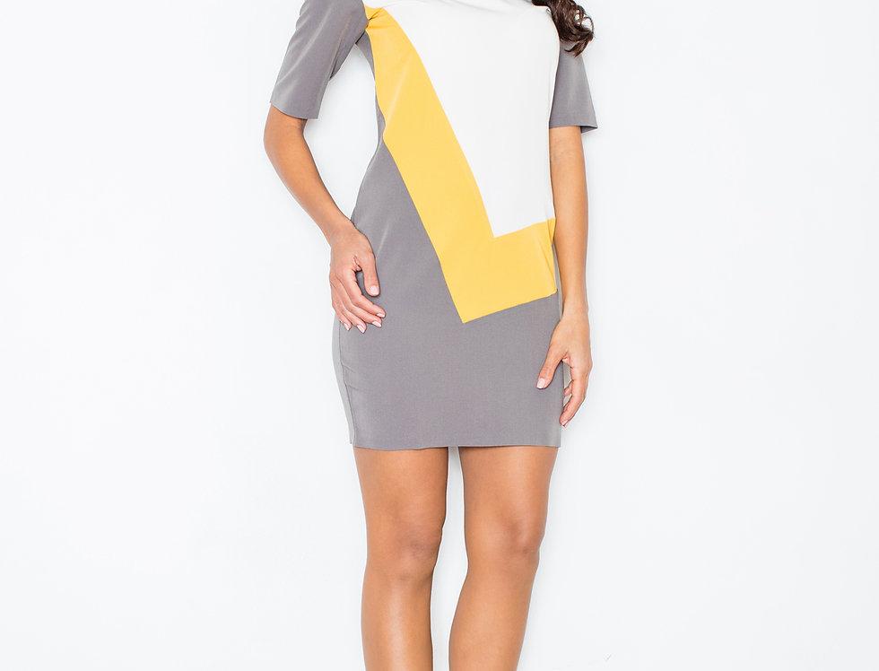 Dress M118 Yellow