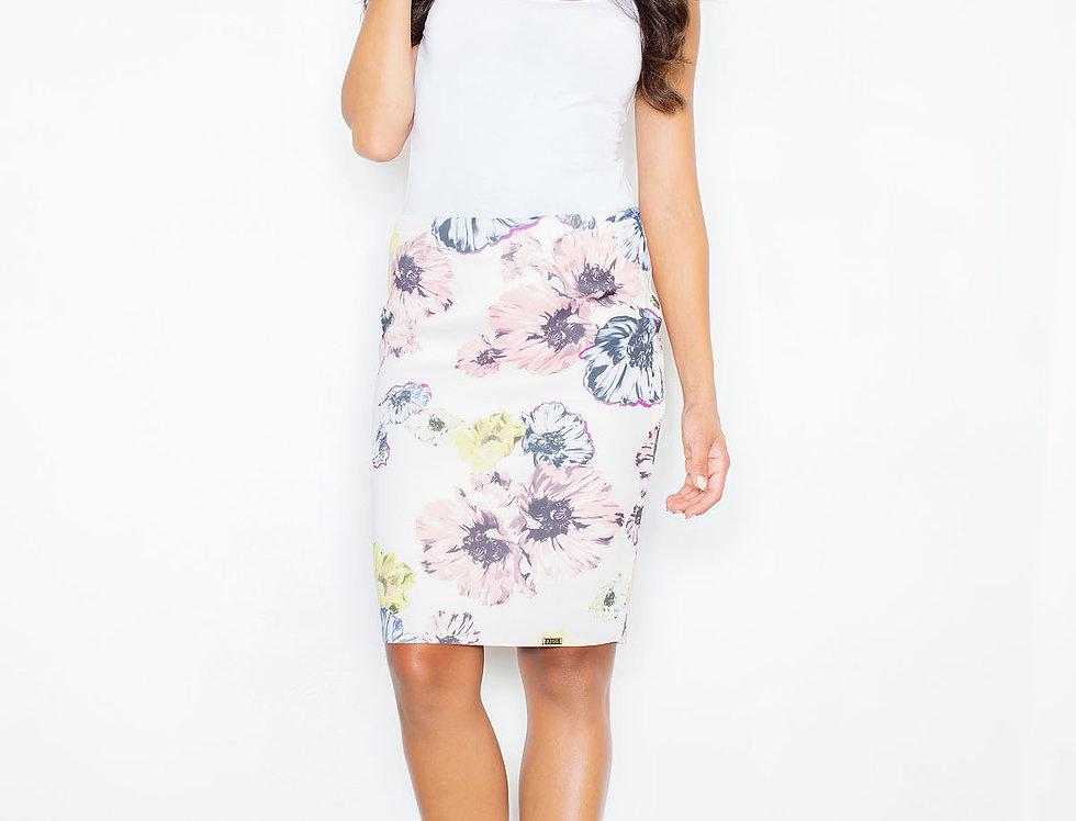 Skirt M387 Flowers
