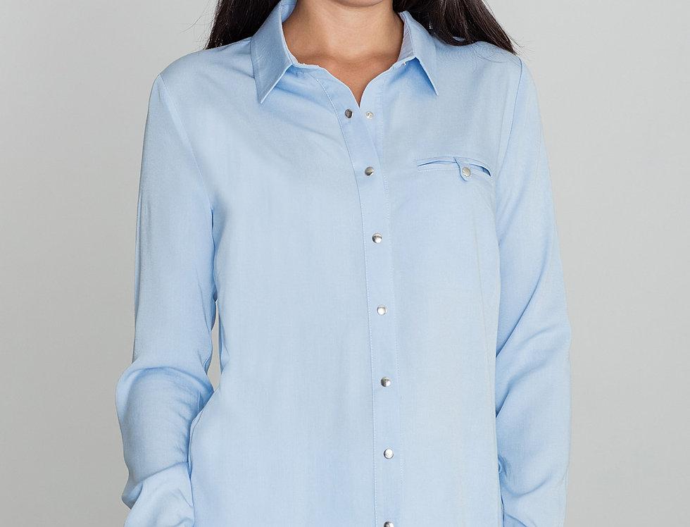 Shirt M581 Light Blue
