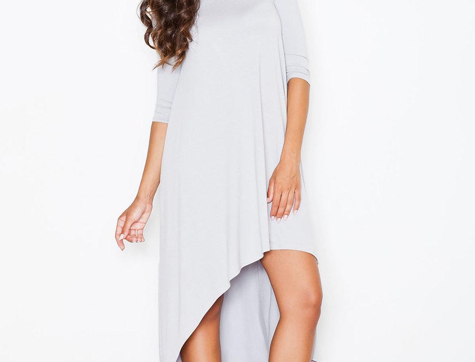 Dress M392 Gray Pattern 2