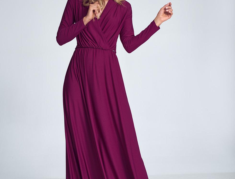 Dress M705 Deep Red