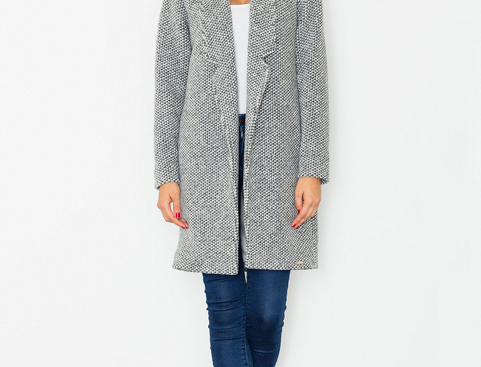 Coat M527 Grey