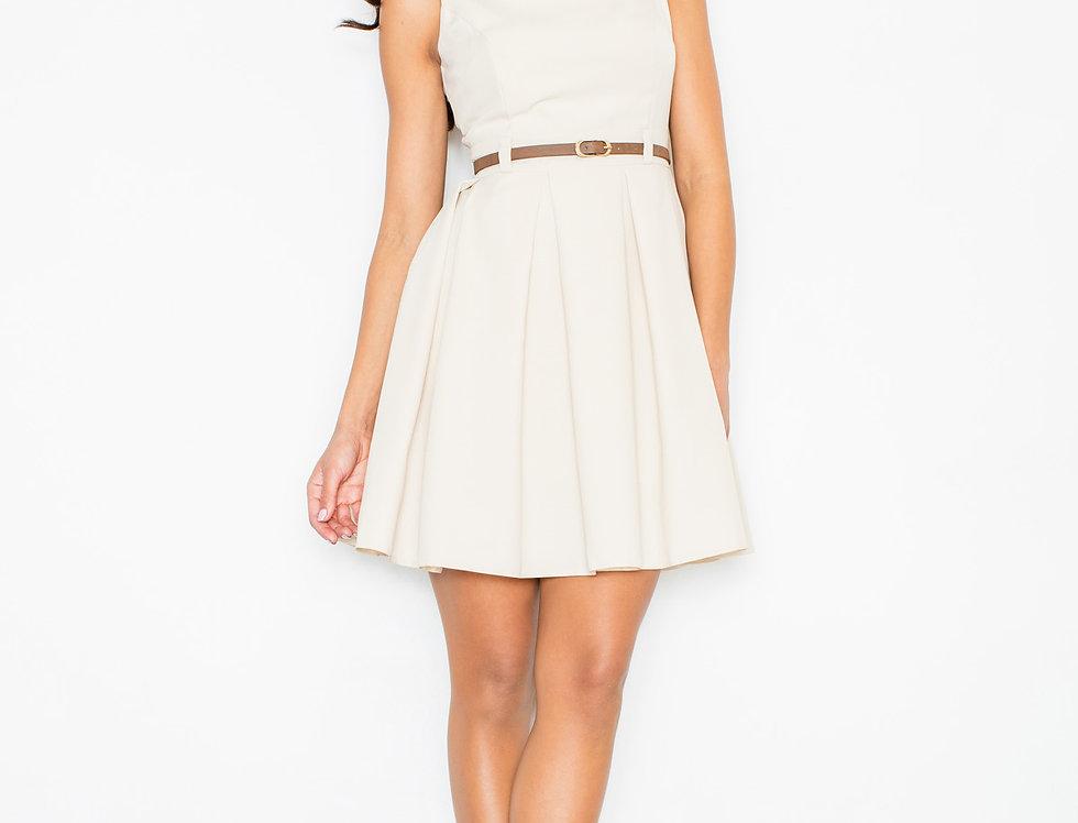 Dress M083 Ecru
