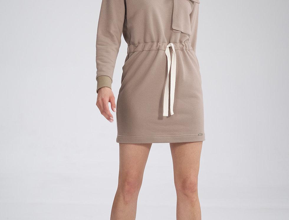 Dress M769 Beige