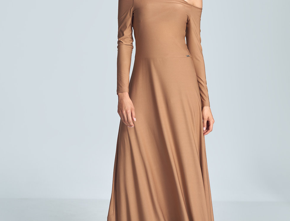 Dress M707 Brown