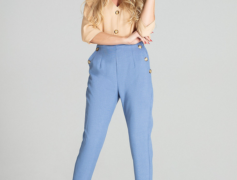Trousers M696 Blue