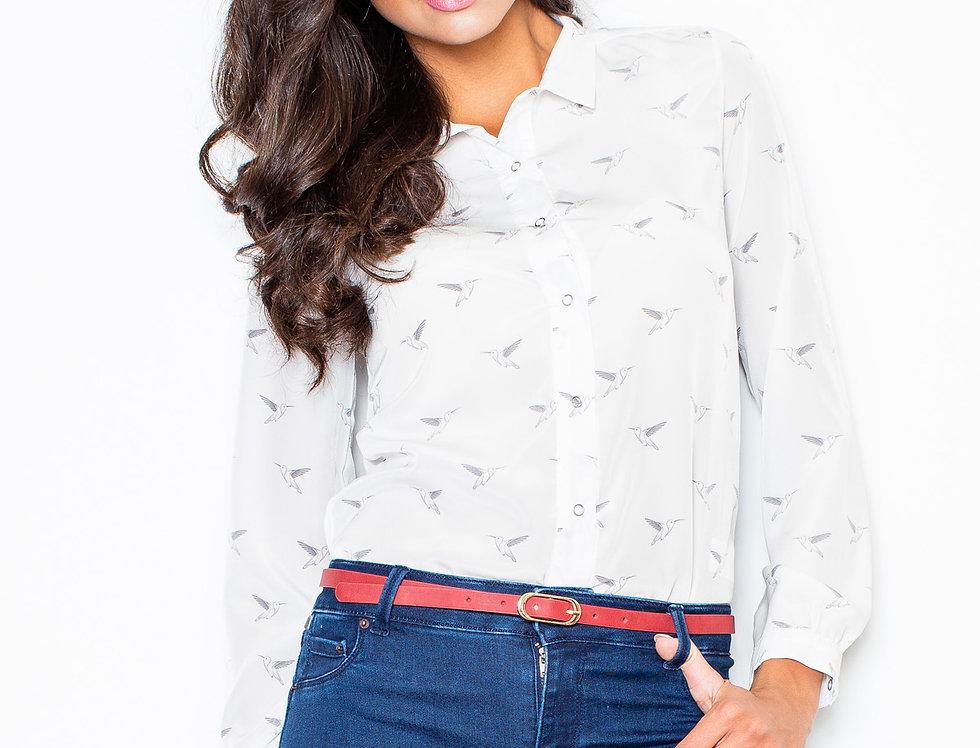 Shirt M284 Ecru
