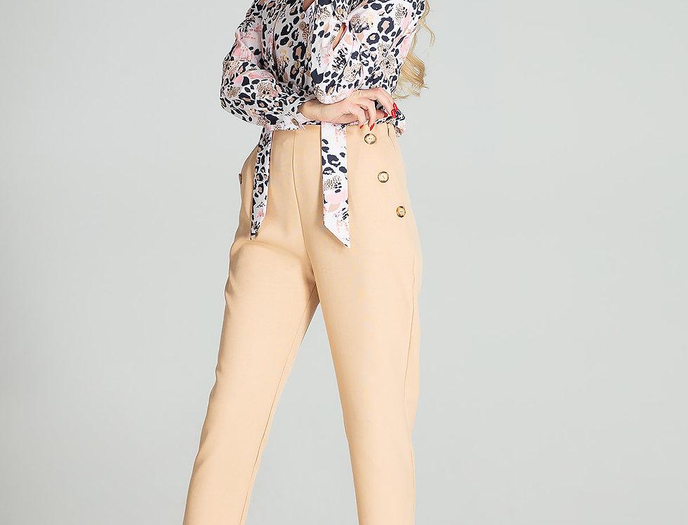 Trousers M696 Beige