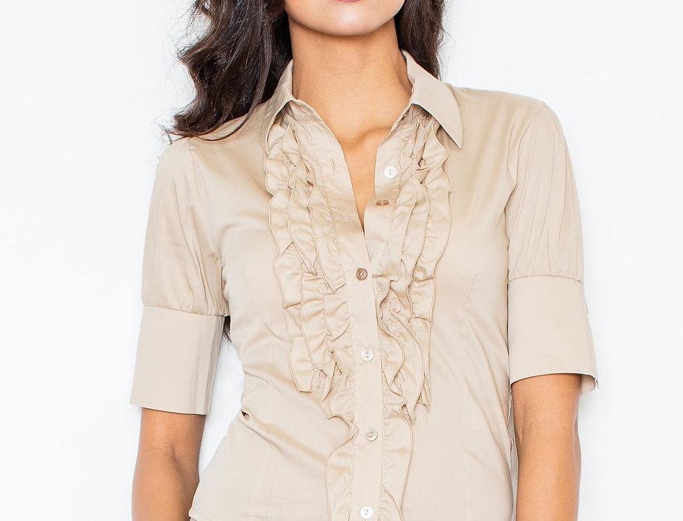 Shirt M025 Beige