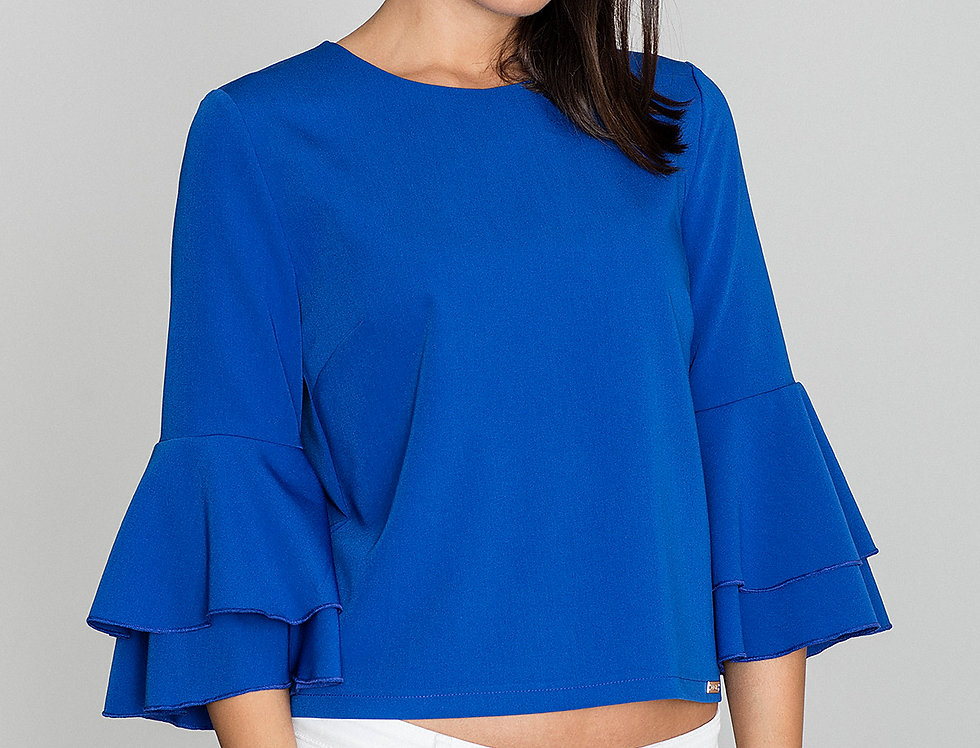 Blouse M565 Blue