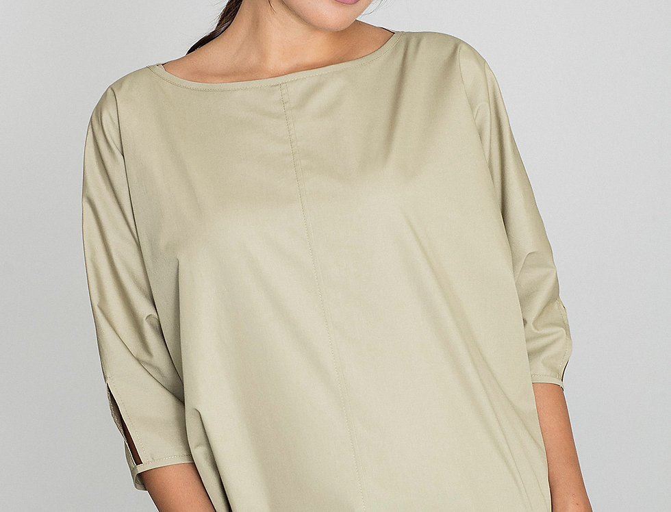 Blouse M563 Olive green