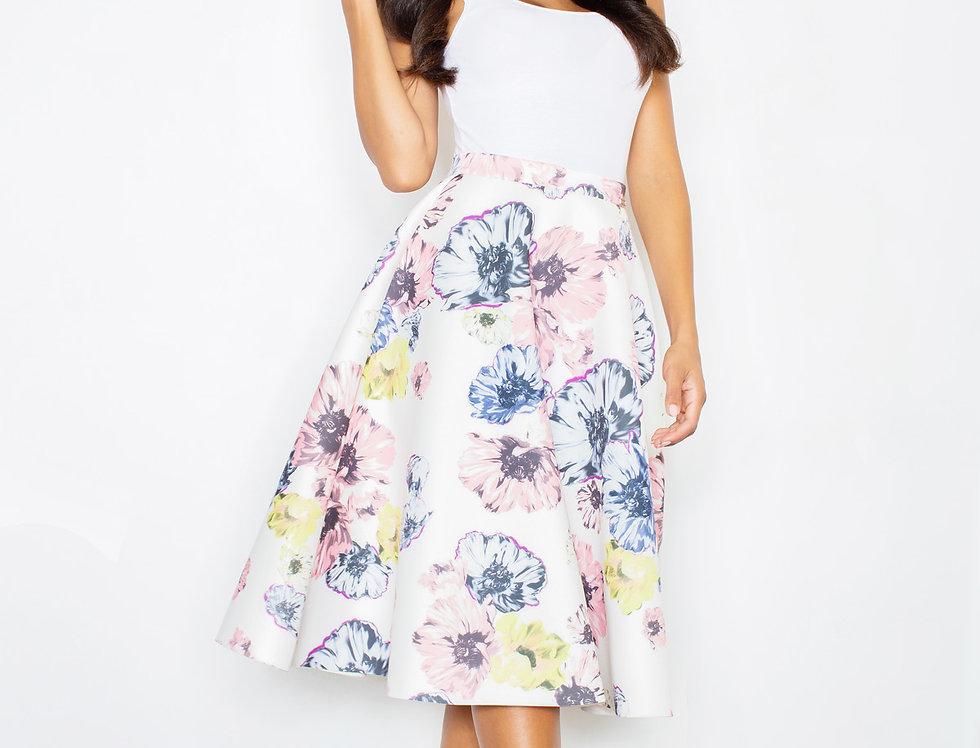 Skirt M383 Flowers