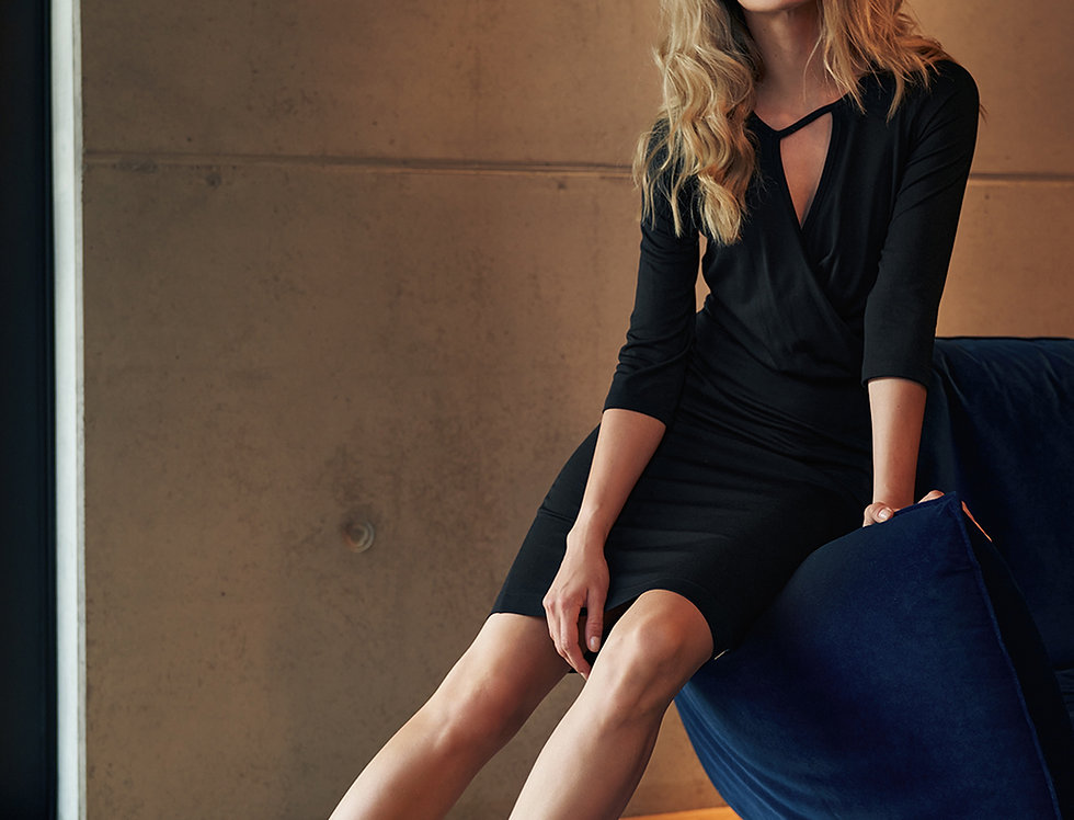 Dress M715 Black