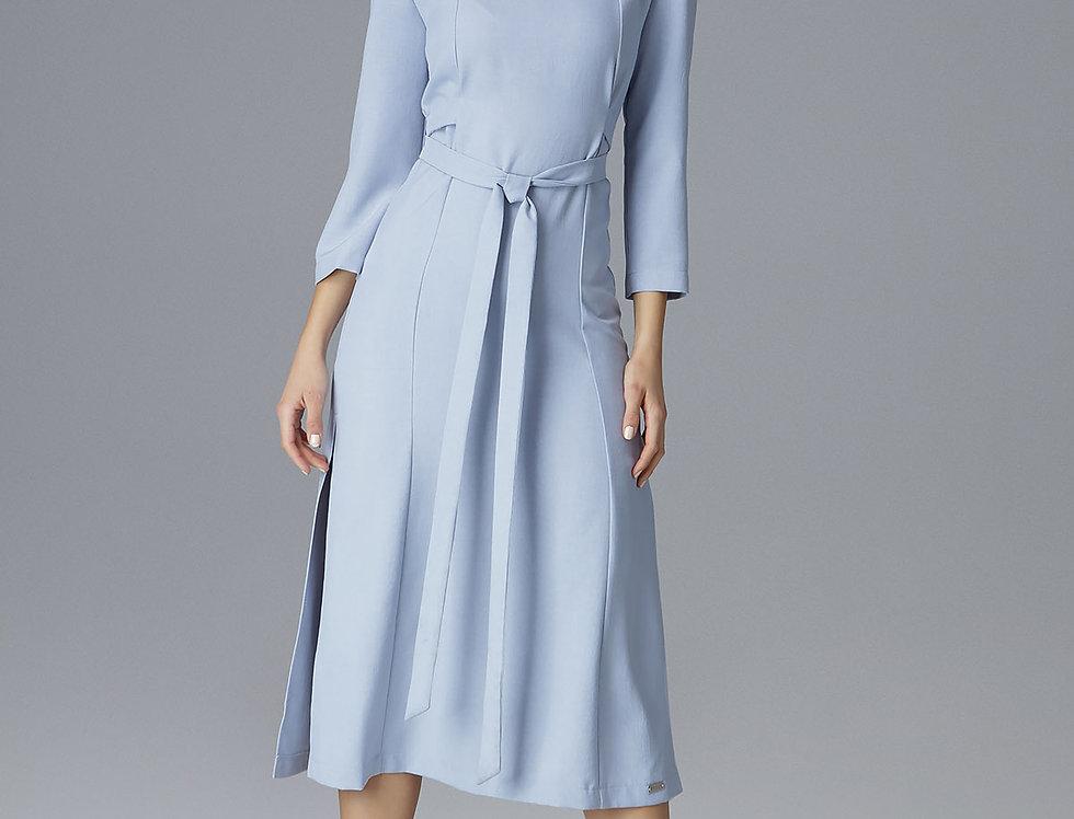 Dress M631 Light Blue