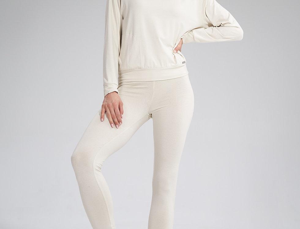 Trousers M773 Ecru