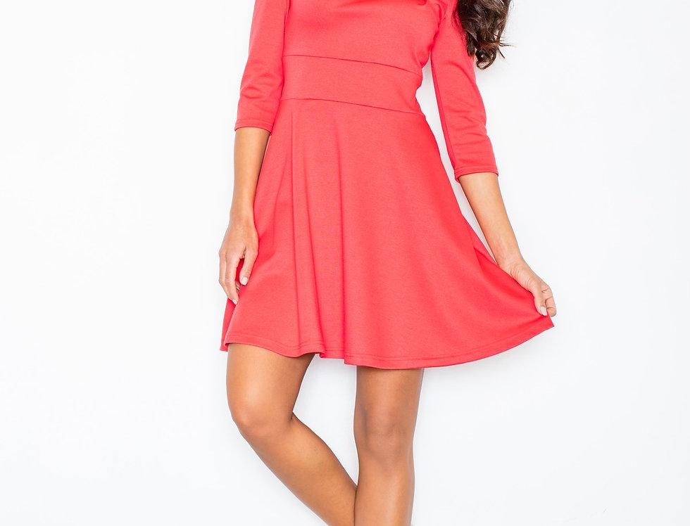 Dress M081 Coral