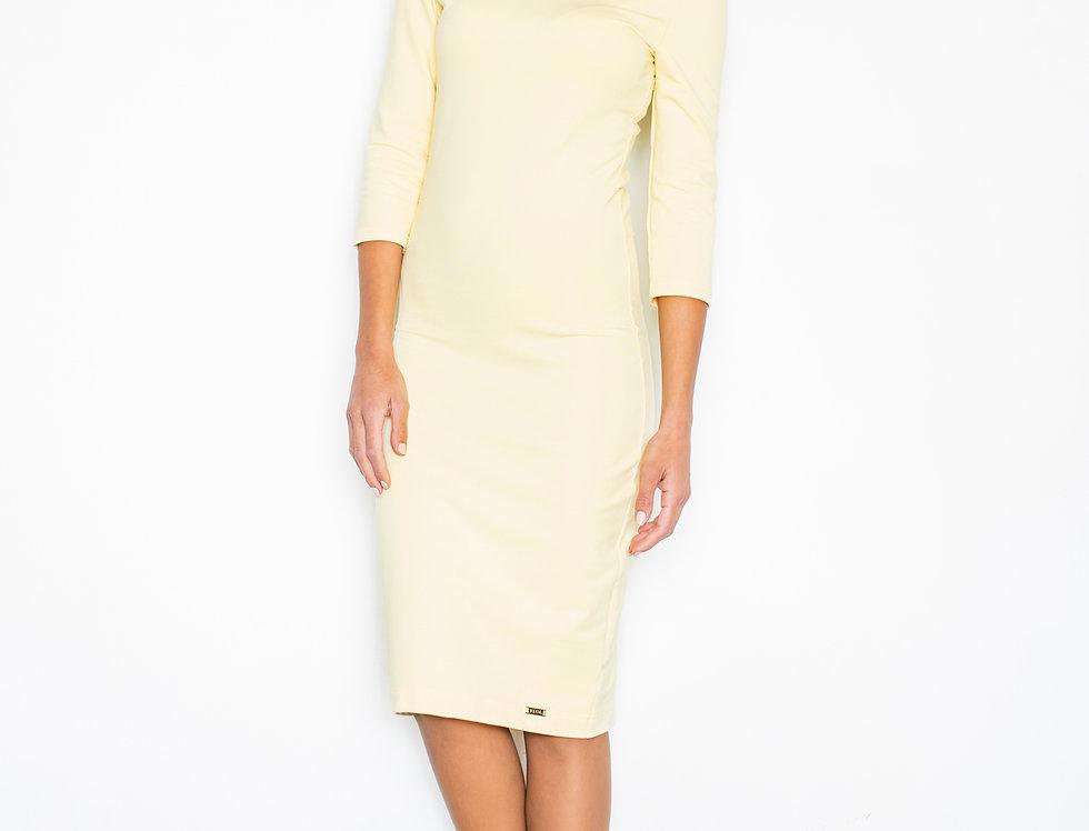 Dress M301 Yellow