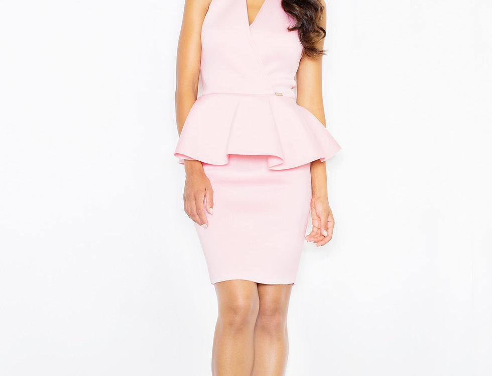 Dress M368 Pink