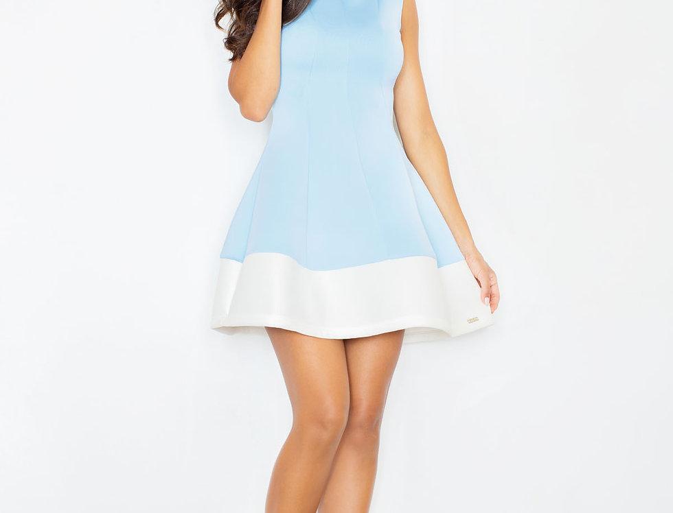 Dress M373 Blue